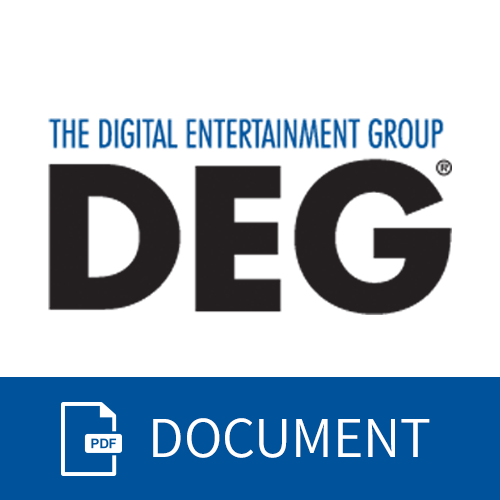 Icon for DEG Report of Home Entertainment Industry Data