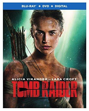 Tomb Raider is the Top DVD Blu-Ray Rental Title