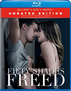 Fifty Shades Freed is the Top Blu-Ray DVD Seller for week ending May 12, 2018