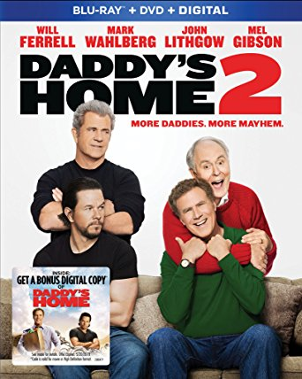 Daddy's Home 2 is on the Top Blu-ray & DVD Rentals Chart