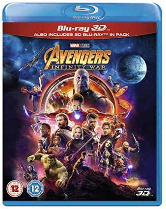 avengers infinity war is the Top Blu-ray & DVD Rentals