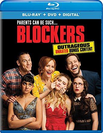 Blockers is the Top Blu-Ray DVD Sellers movie this week