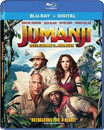 Jumanji: Welcome to the Jungle is the Top Blu-ray & DVD Rentals Chart