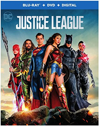 Justice League the Top Blu-ray DVD Seller