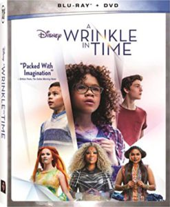 A Wrinkle In Time is on the Top Blu-ray DVD Sellers Chart