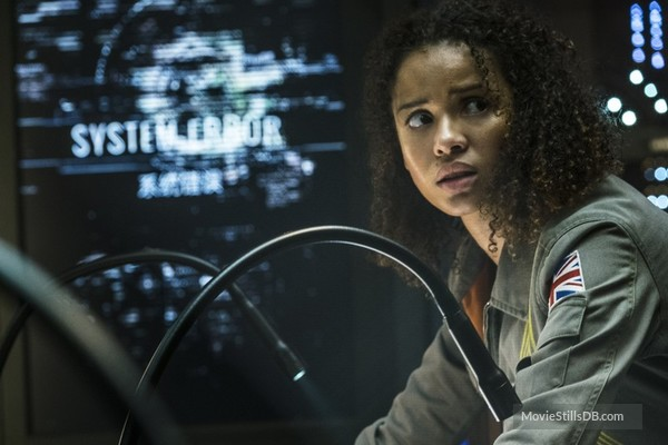 Scene from Netflix exclusive The Cloverfield Paradox.