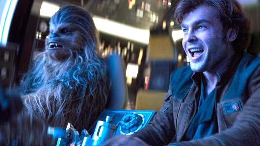 Scene from Solo: A Star Wars Story.